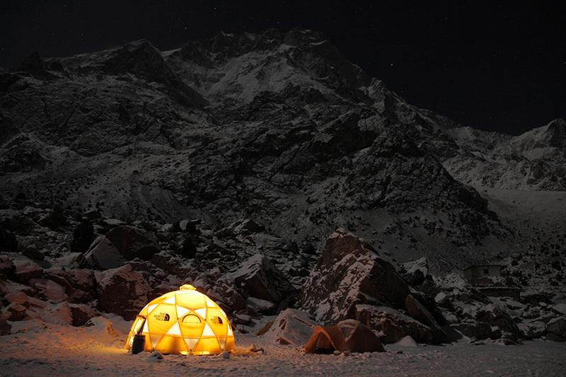 Базовия лагер на Нанга Парбат. Снимка: Emilio Previtali