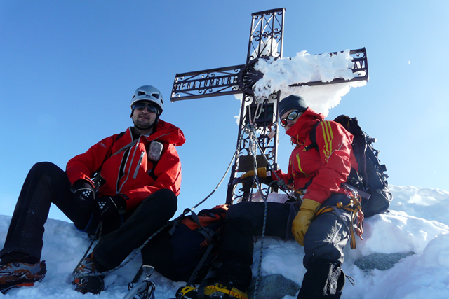 Изкачване на връх Матерхорн по Швейцарския гребен