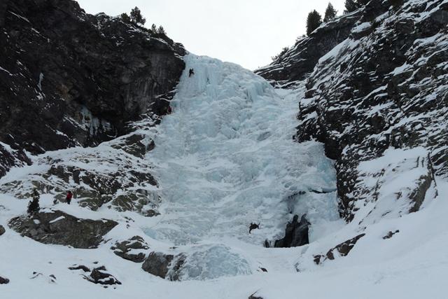 Изкачване на Големия Скакавишки водопад