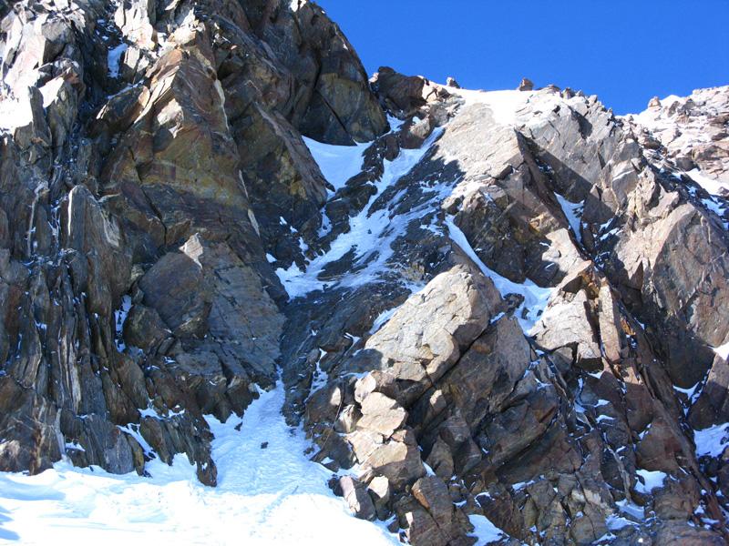 Изкачване на връх Дуфуршпитце по Швейцарския гребен